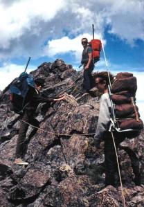 The Narrow Ridge going into Deadman